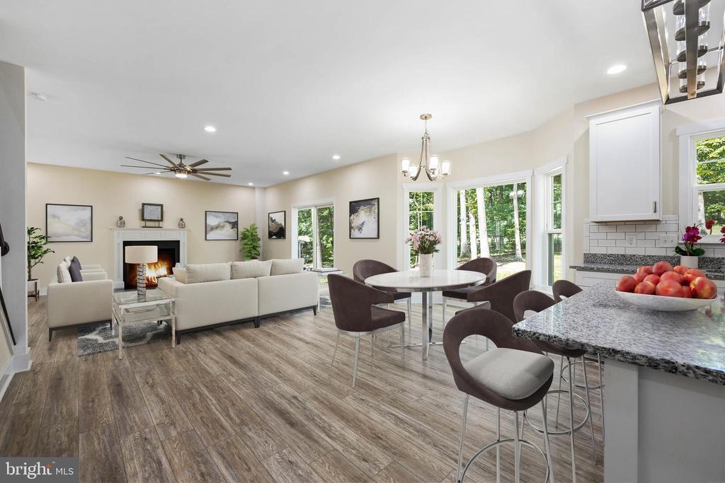 open floor plan - 418 BIRDIE RD, LOCUST GROVE