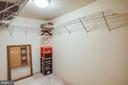 Large walk in closet in basement - 8300 MUSKET RIDGE LN, FREDERICKSBURG