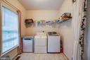 Nice side laundry room off garage & kitchen - 8300 MUSKET RIDGE LN, FREDERICKSBURG