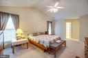 Another angle of the primary bedroom - 8300 MUSKET RIDGE LN, FREDERICKSBURG