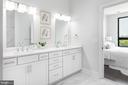 Double Bowl Vanity with Quartz countertops - 44691 WELLFLEET DR #208, ASHBURN