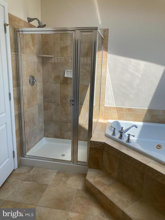 Shower in Master Bathroom - 20064 NORTHVILLE HILLS TER, ASHBURN