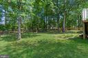 View of yard - 108 ALMEY CT, STERLING