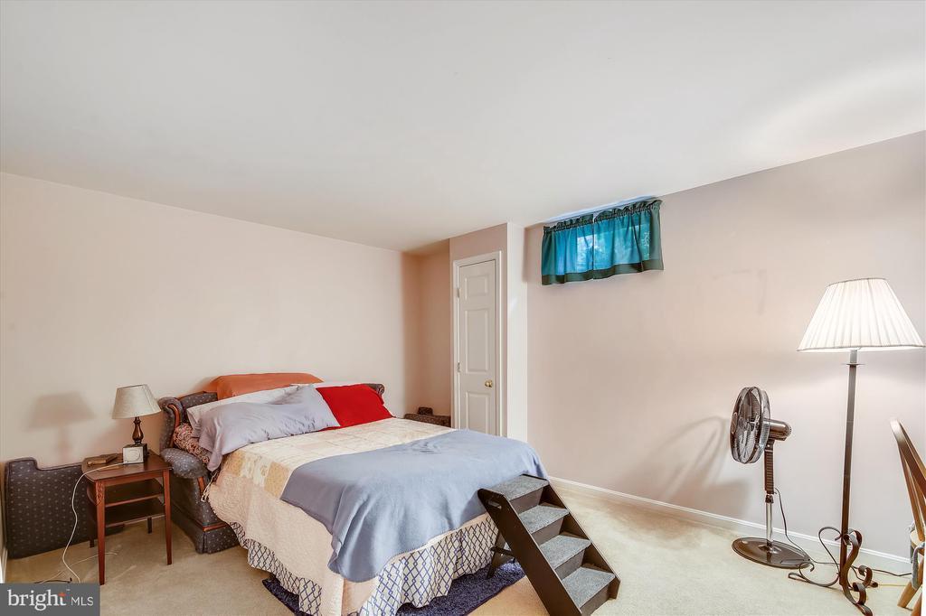 Lower Level Bedroom - 108 SUNLIGHT DR, FREDERICK