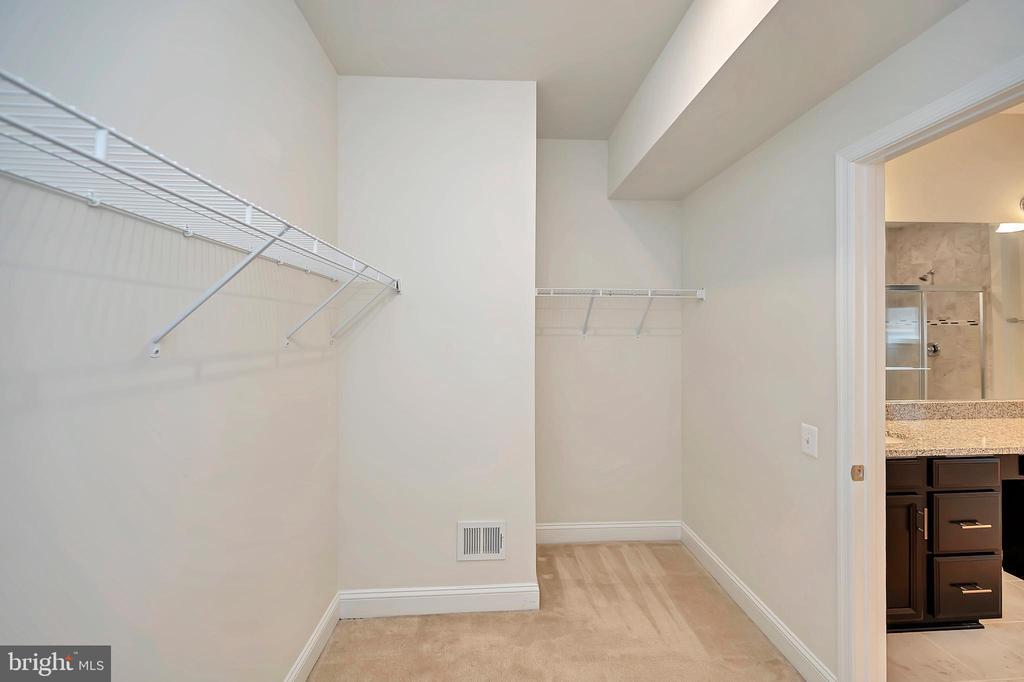Primary Bedroom - Walk-in Closet - 17359 REDSHANK RD, DUMFRIES