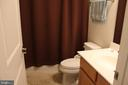Hall bath on upper level - 17105 SEA SKIFF WAY, DUMFRIES