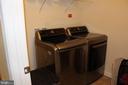 Large laundry room on bedroom - 17105 SEA SKIFF WAY, DUMFRIES