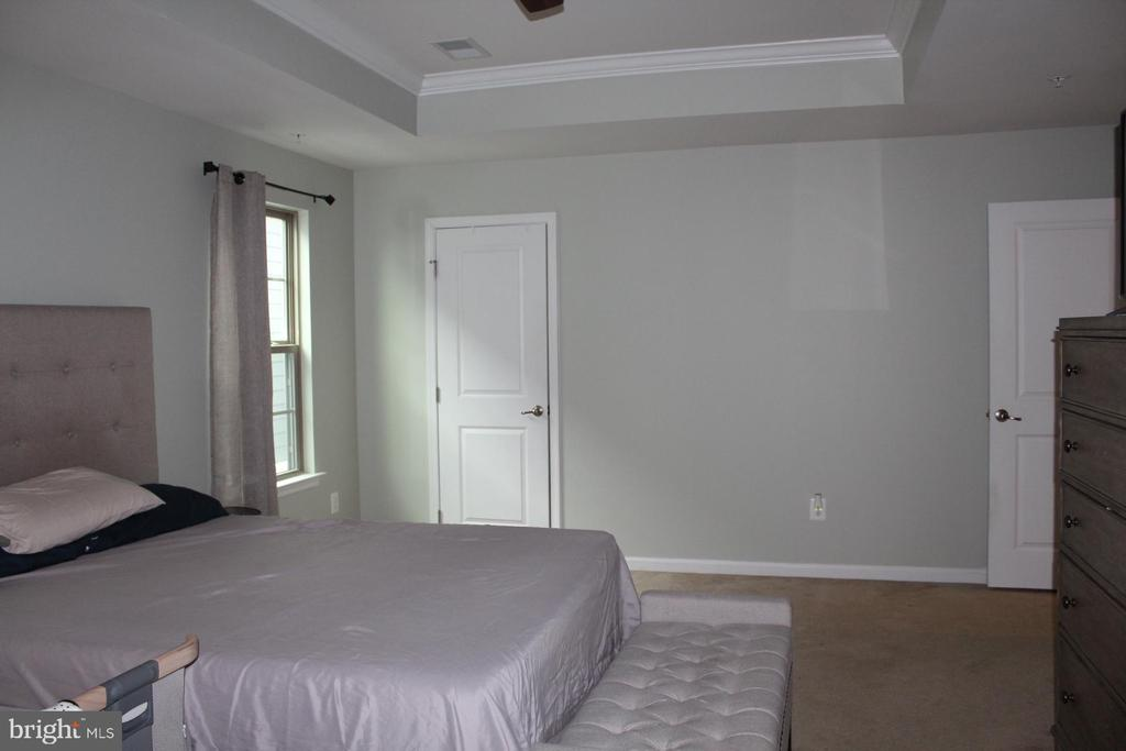 Primary Bedroom with tray ceiling - 17105 SEA SKIFF WAY, DUMFRIES