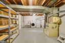 Large utility/laundry/storage room - 5905 DEWEY DR, ALEXANDRIA