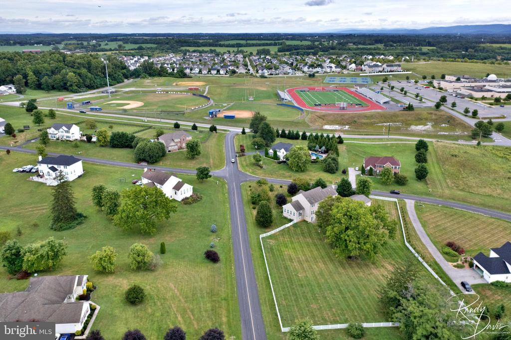 Aerial View - 26 STONEWAY CT, CHARLES TOWN