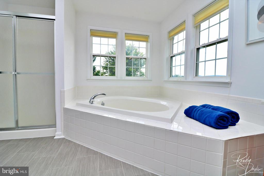 Primary Bathroom with Soaking Tub - 26 STONEWAY CT, CHARLES TOWN