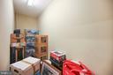 Interior of storage unit - 1418 N RHODES ST #B-112, ARLINGTON