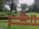 Park entrance at end of street (1 block away) - 5905 DEWEY DR, ALEXANDRIA