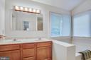 Primary Bathroom w/ Dual Vanity - 11515 BEND BOW DR, FREDERICKSBURG