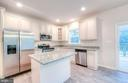 Kitchen will be light & bright!!! - 102 MONROE ST, LOCUST GROVE
