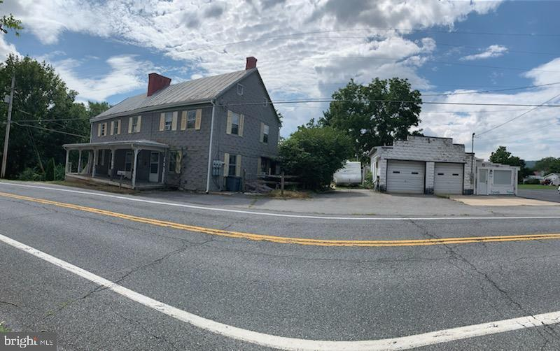 Panoramic Picture of House and Garage - 11020 HESSONG BRIDGE RD, THURMONT