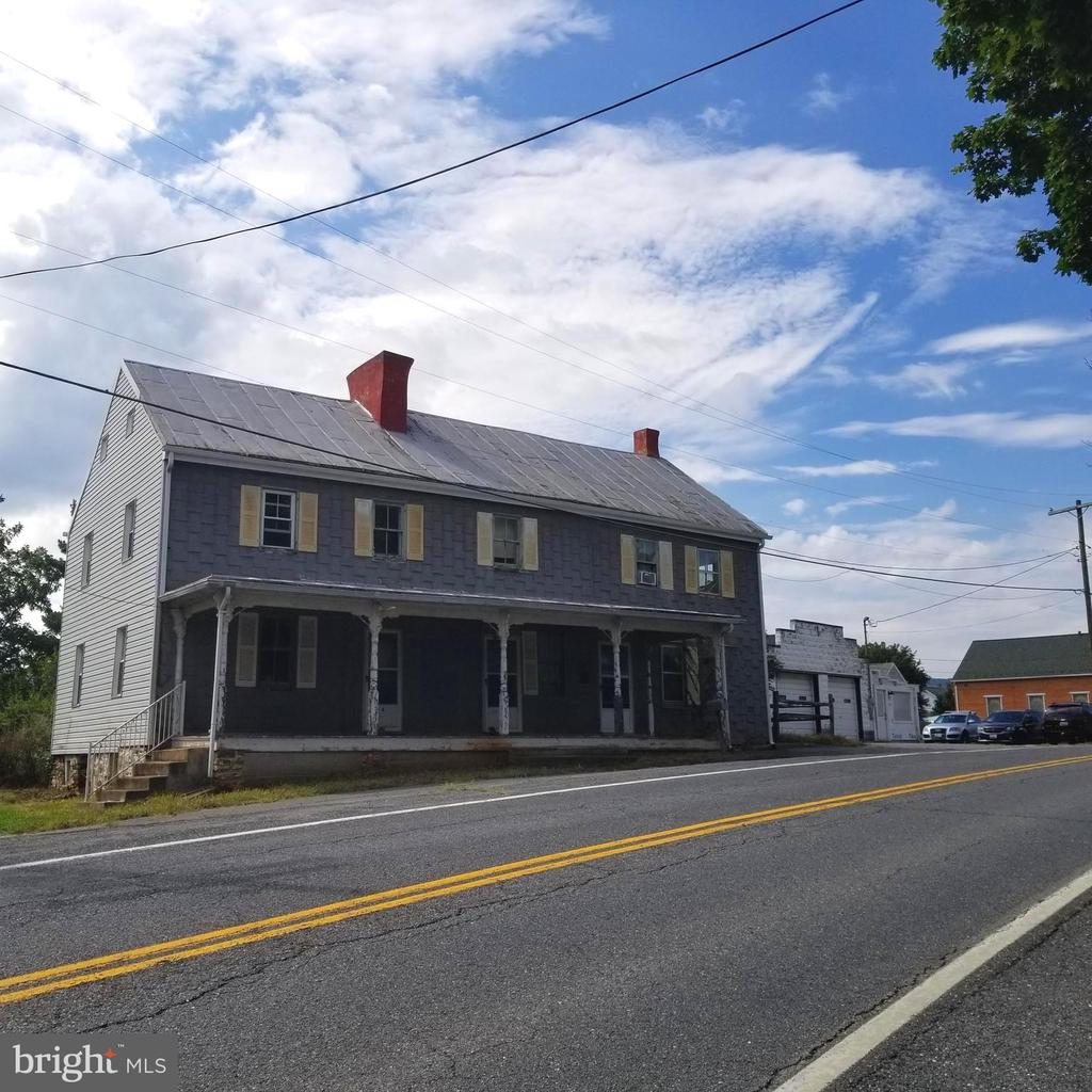 Front of House facing the Road Photo - 11020 HESSONG BRIDGE RD, THURMONT