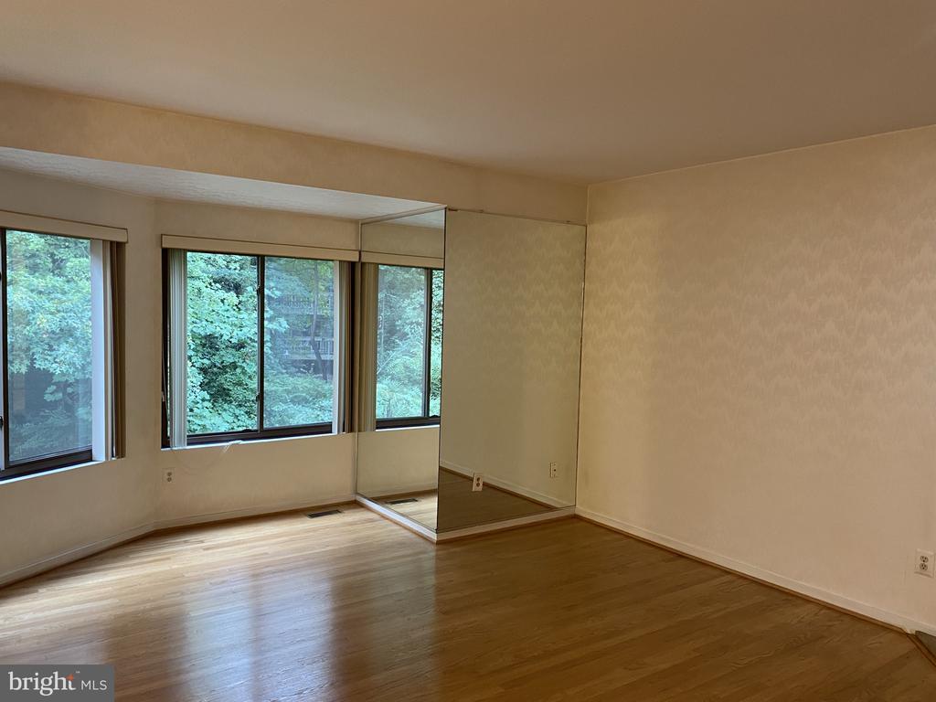 Living  room windows - 11605 CLUBHOUSE CT, RESTON