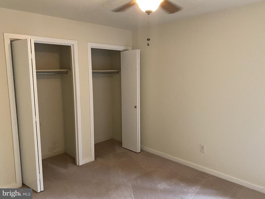 Third upper level bedroom closets - 11605 CLUBHOUSE CT, RESTON