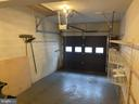 One car garage - 11605 CLUBHOUSE CT, RESTON