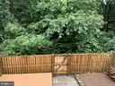 Another deck view of neighboring woods - 11605 CLUBHOUSE CT, RESTON