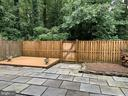 Rear patio, and lower level deck - 11605 CLUBHOUSE CT, RESTON