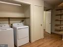 Lower level laundry room - 11605 CLUBHOUSE CT, RESTON