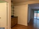 Vinyl wood like lower level floors - 11605 CLUBHOUSE CT, RESTON