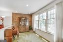 Light-filled and bright family room - 8927 BURBANK RD, ANNANDALE