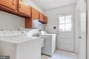 Laundry convenient on first floor near kitchen - 8927 BURBANK RD, ANNANDALE