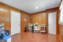 Wood-paneled walls - 8927 BURBANK RD, ANNANDALE