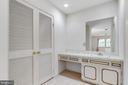 Master Bedroom Vanity with sink - 8927 BURBANK RD, ANNANDALE