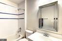Upstairs Bath - 17053 LOFTRIDGE LN, GAINESVILLE