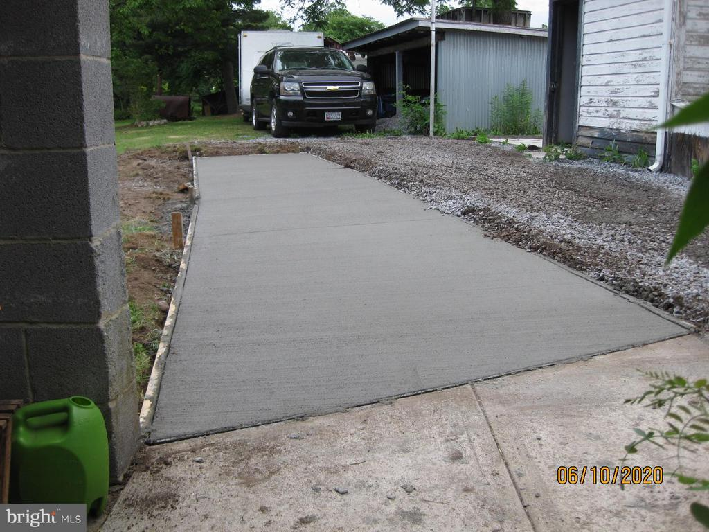 Picture of concrete side walk and gravel added - 11020 HESSONG BRIDGE RD, THURMONT