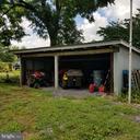 Storage Area -  behind garage - 11020 HESSONG BRIDGE RD, THURMONT