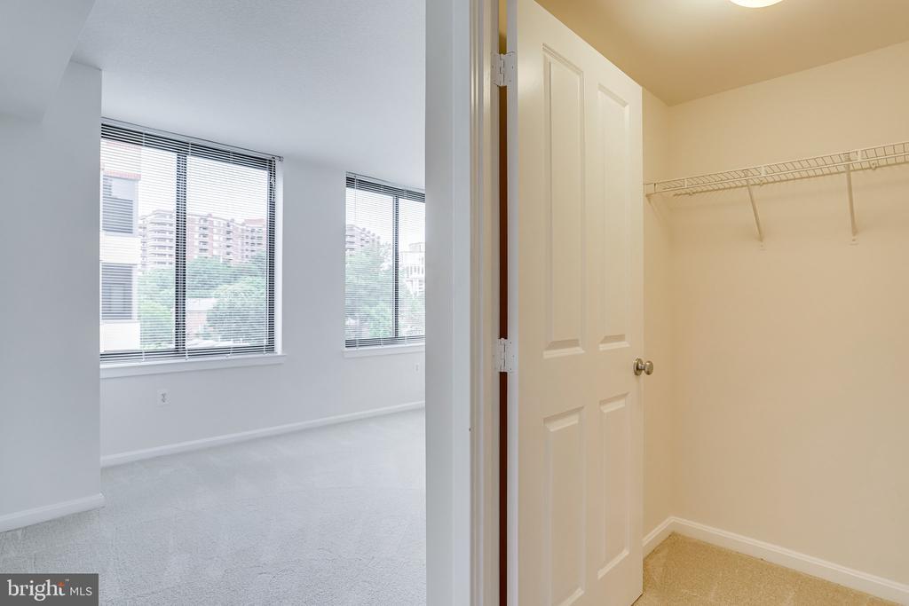 Large walk-in closet in second bedroom. - 2220 FAIRFAX DR #803, ARLINGTON