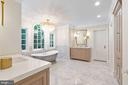Stunning Owner's Bath with Dual Vanities - 3315 HIGHLAND PL NW, WASHINGTON