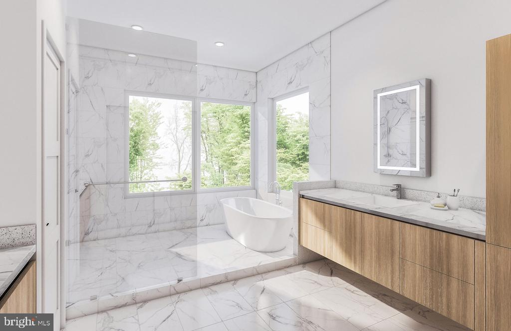 Conceptual Owners Bathroom - 3632 36TH RD N, ARLINGTON