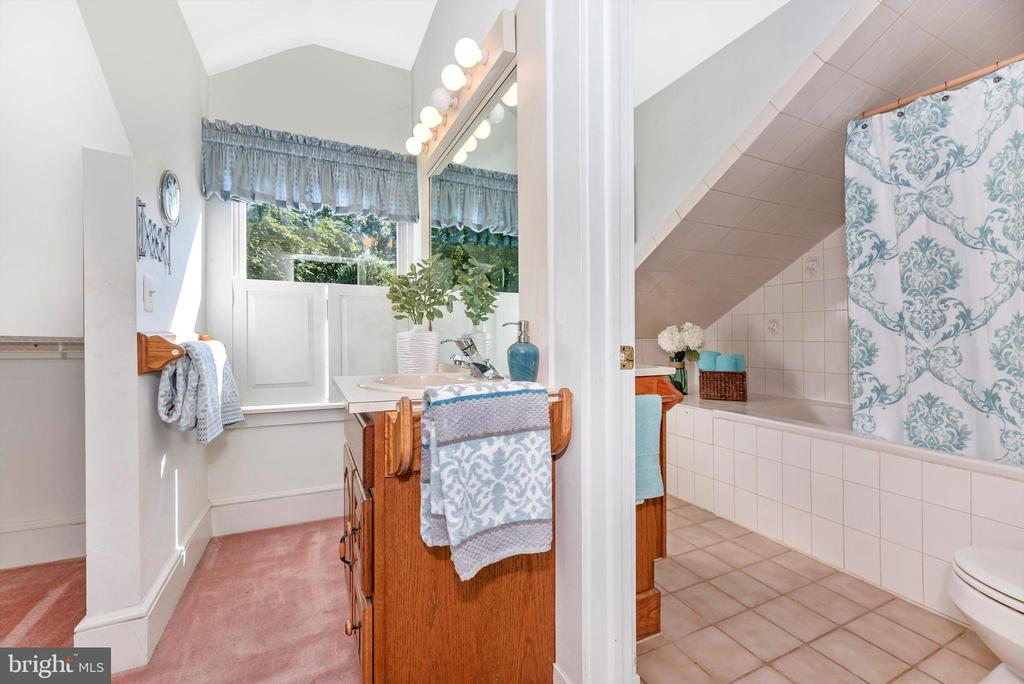 Master bath - 19121 WINDSOR FOREST RD, MOUNT AIRY