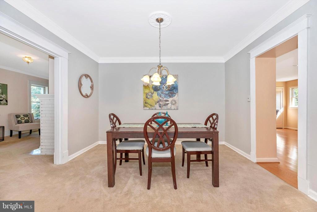 Dining room - 19121 WINDSOR FOREST RD, MOUNT AIRY
