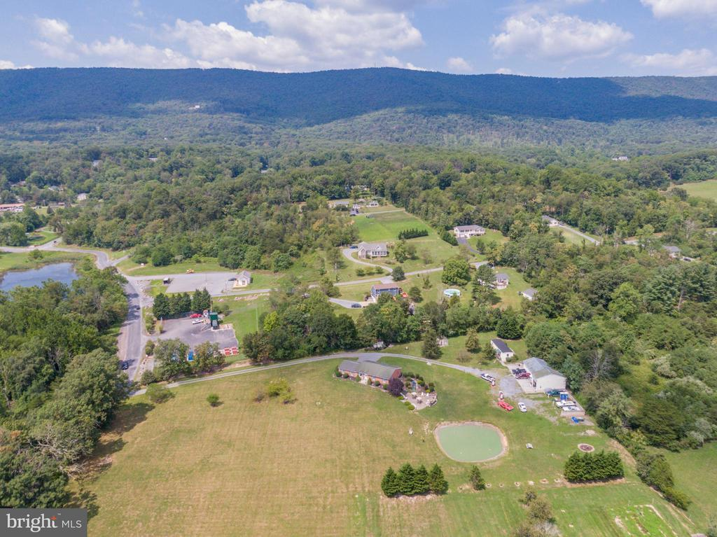 Drone view capturing mountains - 140 BOWMAN LN, WINCHESTER