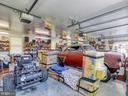 Inside detached garage/workshop - 140 BOWMAN LN, WINCHESTER