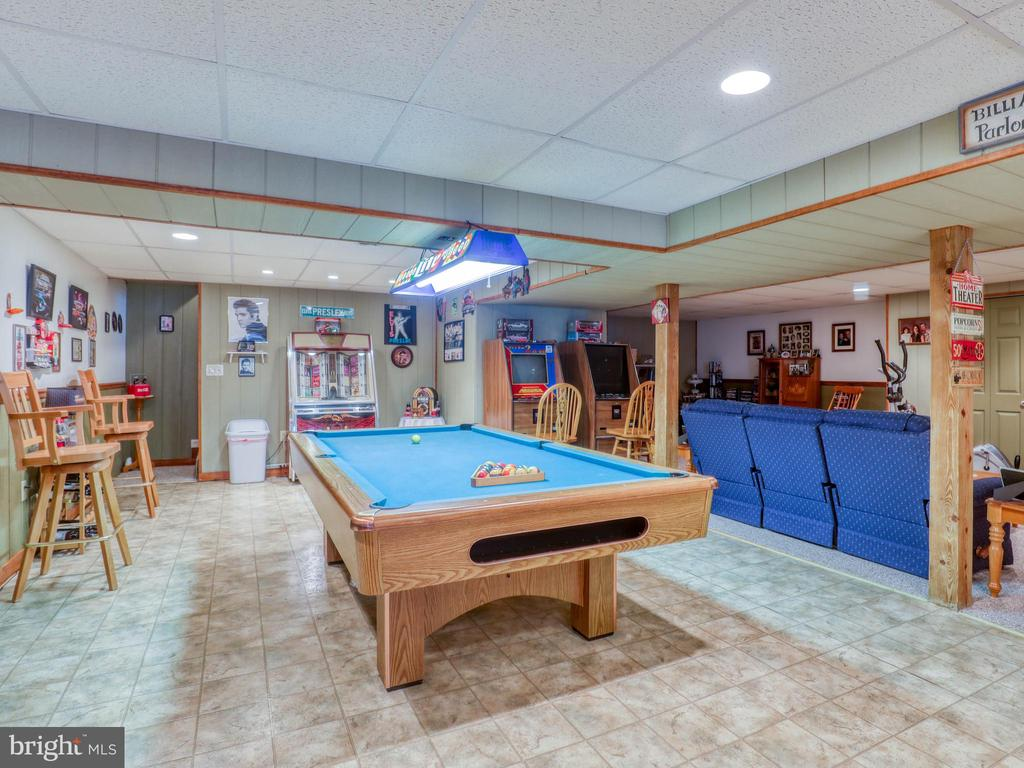 View of rec room from far end - 140 BOWMAN LN, WINCHESTER