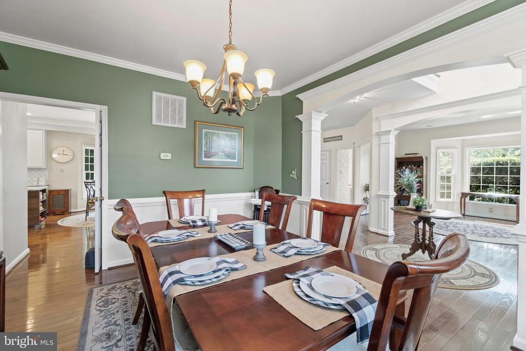 Formal Dining Room - 15997 KENSINGTON PL, DUMFRIES