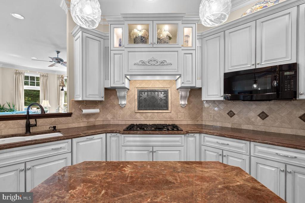 Kitchen: chef's delight - 20260 ISLAND VIEW CT, STERLING