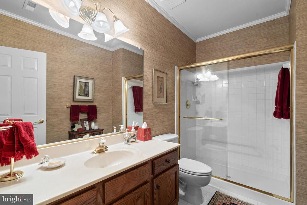 Lower Level: Full/Guest Bath - 20260 ISLAND VIEW CT, STERLING