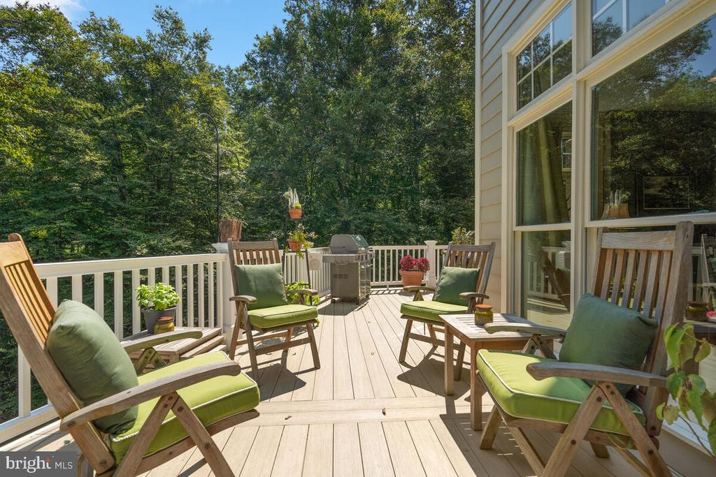 Wrap-around Deck - plenty of outdoor living space - 20260 ISLAND VIEW CT, STERLING