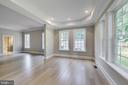 2nd Master Bedroom or In-Law Suite, on main level - 3104 SLEEPY HOLLOW RD, FALLS CHURCH