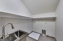 Laundry Room, on upper level - 3104 SLEEPY HOLLOW RD, FALLS CHURCH