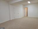 View toward Walk-in Closet in 4th basement place - 25452 CROSSFIELD, CHANTILLY